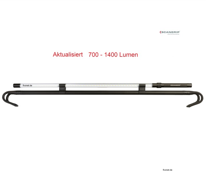 Scangrip 03.5240 Line Light Bonnet 1400 Lumen Werkstattlampe Motorraumleuchte
