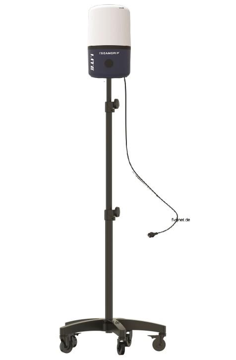 Scangrip 03.5637 AREA LITE CO 6000 Lumen Baustrahler mit Rollstativ
