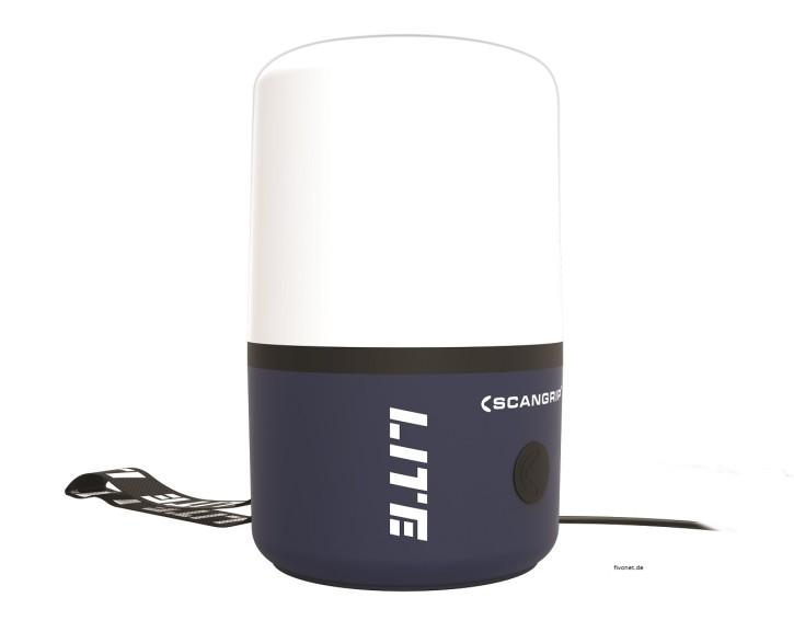 Scangrip 03.5637 AREA LITE CO LED Baustrahler mit Steckdose