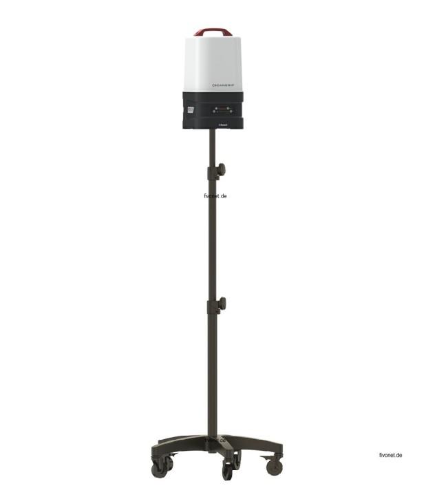 Scangrip 03.6009 AREA 10 SPS 360° Arbeitsleuchte mit Rollstativ