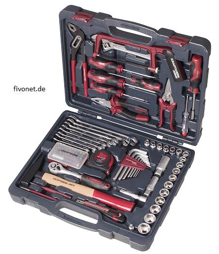 KRAFTWERK 88-tlg. Universal Werkzeugkoffer 1048