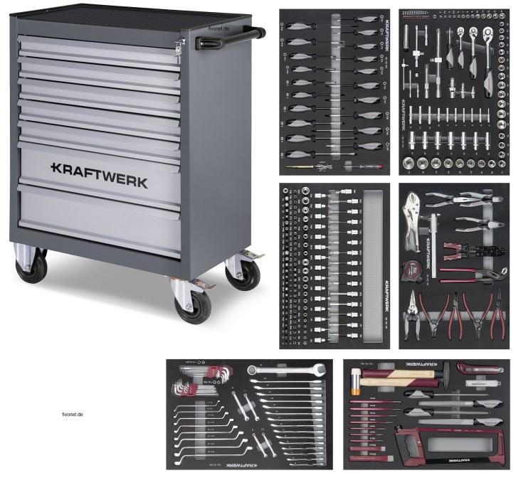 KRAFTWERK B107 Werkstattwagen 304-teilig