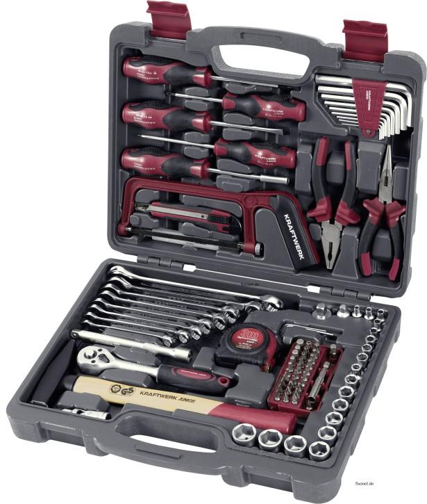 KRAFTWERK 1042 100-tlg. Universal Werkzeugkoffer