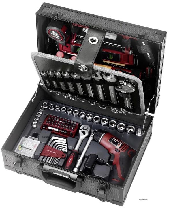 KRAFTWERK 1052 Werkzeugkoffer mit Akku-Bitschrauber
