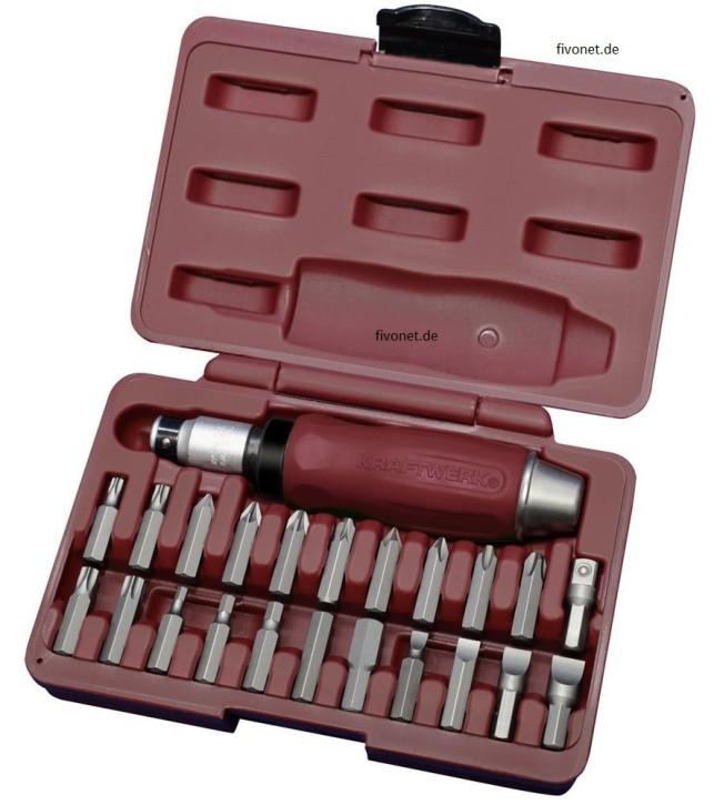 KRAFTWERK 23-tlg. Hand - Schlagschrauber Set