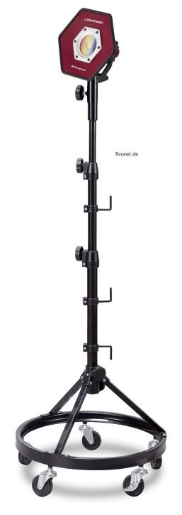 KRAFTWERK 20W High CRI COB LED Akkustrahler mit Stativ 32030D