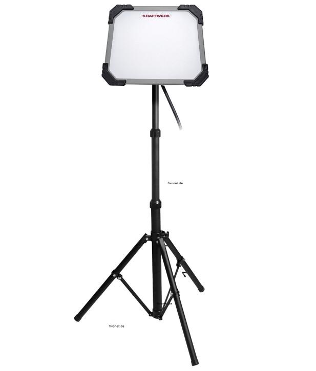 KRAFTWERK 32080 LED Arbeitsleuchte T5000 mit Stativ