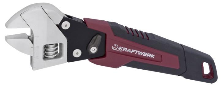 KRAFTWERK Ratschen-Rollgabel-Schlüssel Franzose mit Ratsche