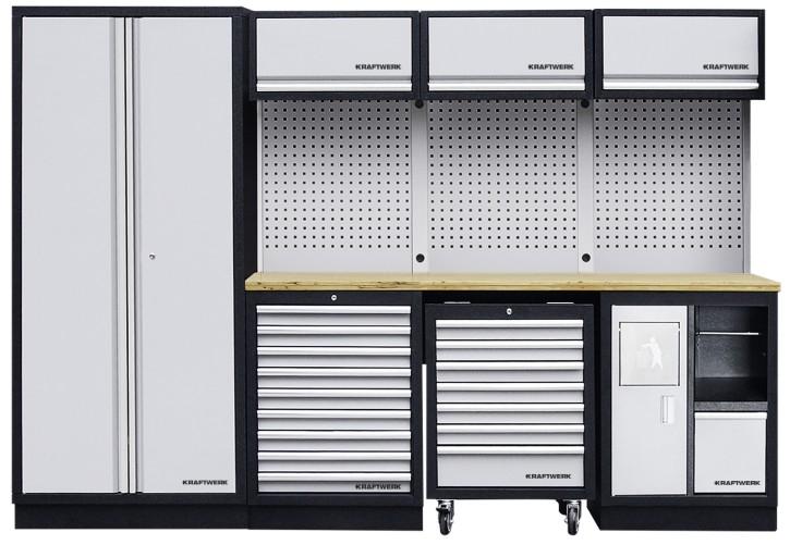 Werkstattschrank 4-Element Schrankwand Mobilio KRAFTWERK 3964D