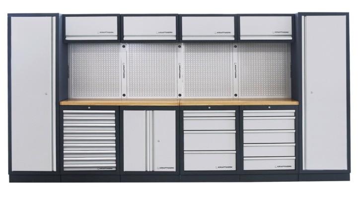 Werkstattschrank 6-Element Schrankwand Mobilio KRAFTWERK 3964F