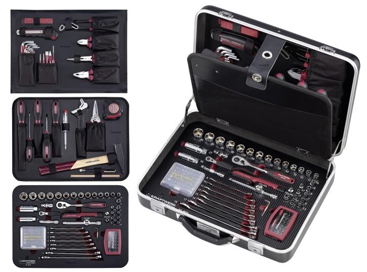 KRAFTWERK 4015  HIGHTECH FINE POWER Werkzeugkoffer