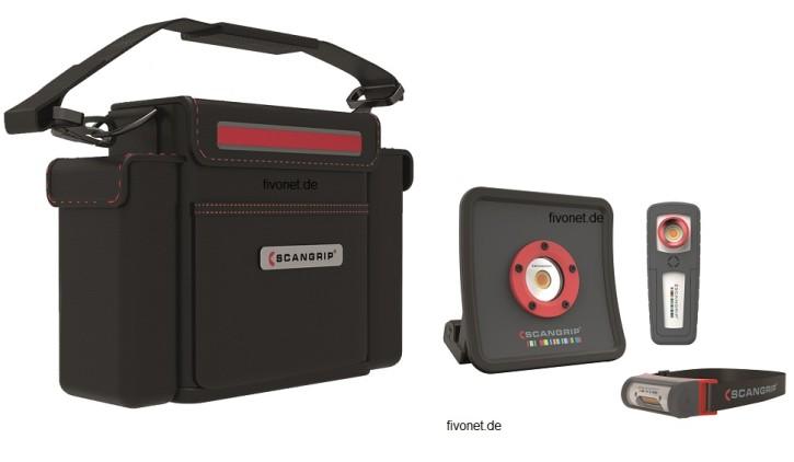 Scangrip 49.0220 Essential Kit Fahrzeug Aufbereitung