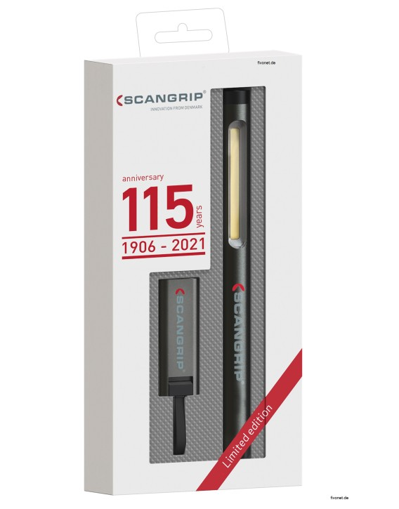 Scangrip 49.0401 Work Pen 200 R Akku Stiftleuchte Flash Micro