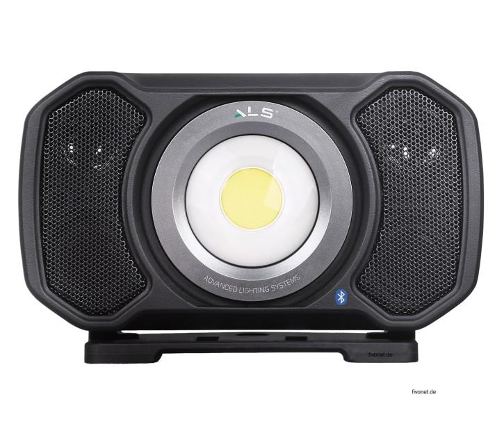 AUD202H Audio Light R+C Strahler mit Lautsprecher ALS/Scangrip