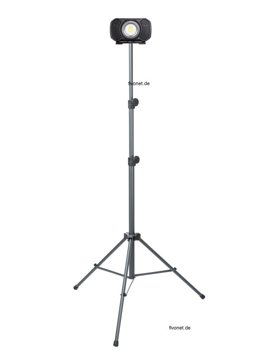 AUD202H Audio Light R+C Strahler mit Lautsprecher ALS/Scangrip Stativ