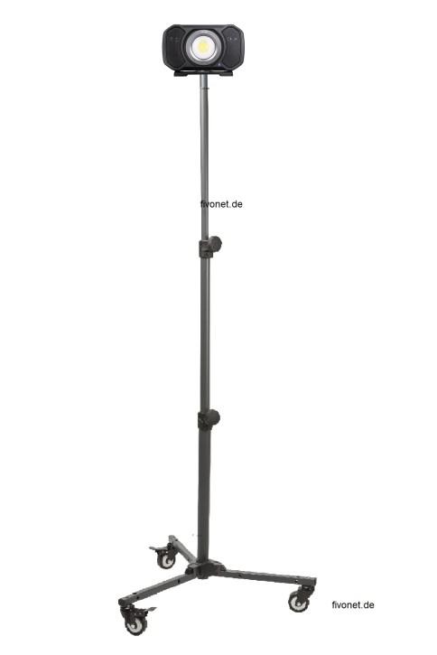 AUD202H Audio Light R+C Strahler mit Lautsprecher ALS/Scangrip Rollstativ