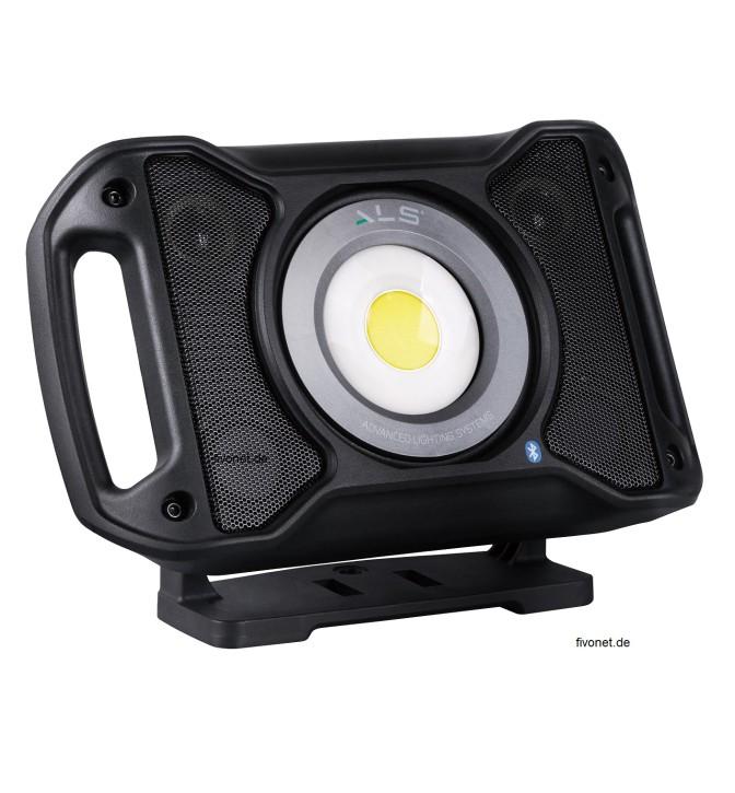AUD502H Audio Light R+C Strahler mit Lautsprecher ALS/Scangrip