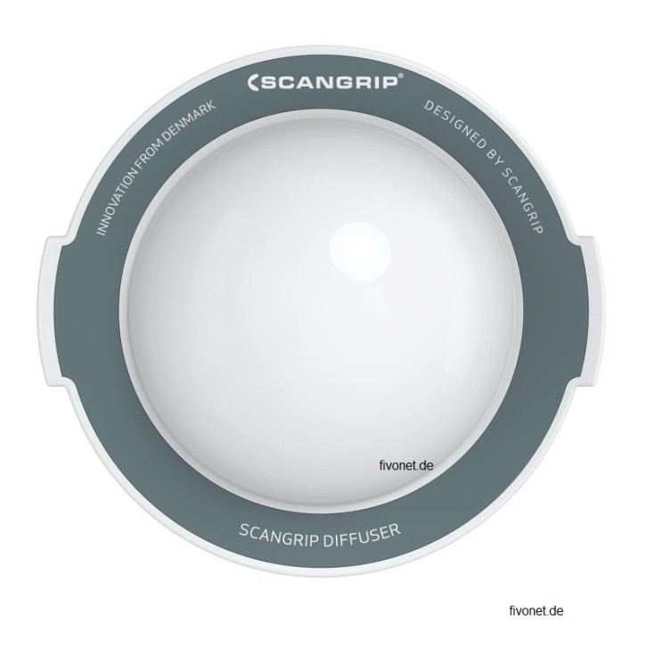 Scangrip 03.5751 Diffuser LARGE für Nova 5/10K, SPS 6/10, Multimatch8