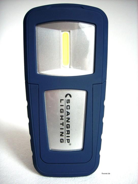 Scangrip Miniform 03.5491 UK COB LED Akkulampe Werkstattlampe Taschenlampe