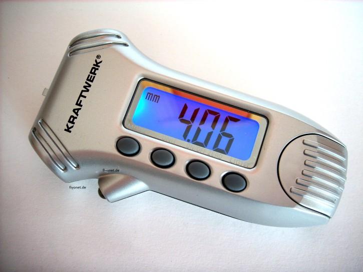 Digitaler Luftdruckmesser Profiltiefenmesser