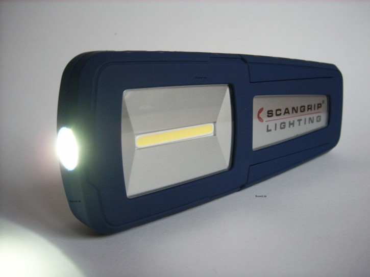 Scangrip MIDIFORM COB LED Akkulampe Werkstattlampe Taschenlampe