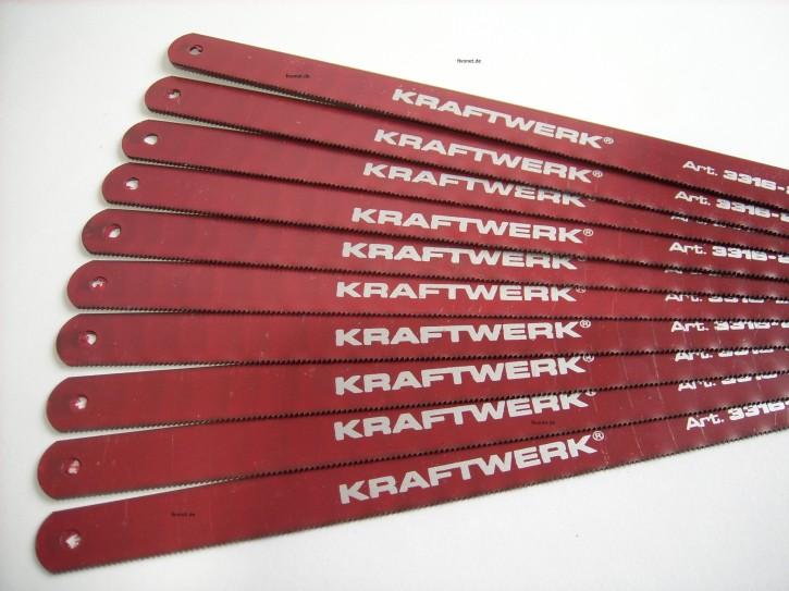 KRAFTWERK 10x Metall - Sägeblatt für Handsäge