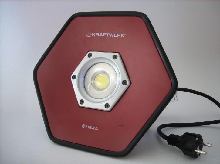 KRAFTWERK 50W COB LED Strahler HEXA 32027