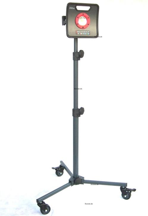 Scangrip MULTIMATCH 2 C+R  Akku-Strahler mit Rollstativ