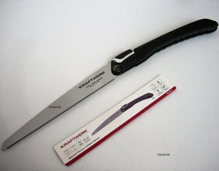 KRAFTWERK Japansäge faltbar Säge 240mm