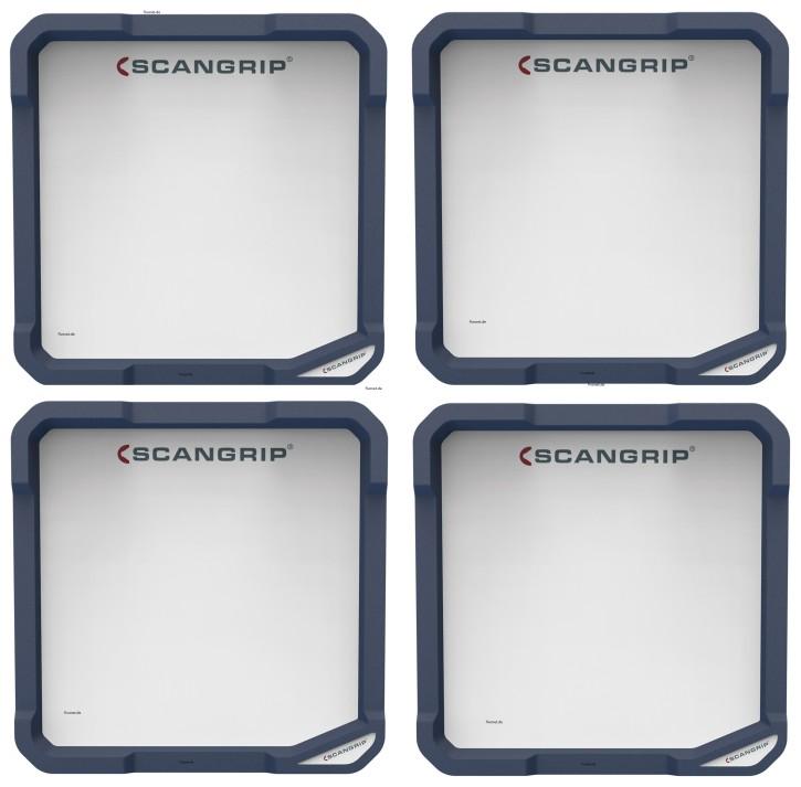 4x Scangrip VEGA LITE 2600 03.5452 Set