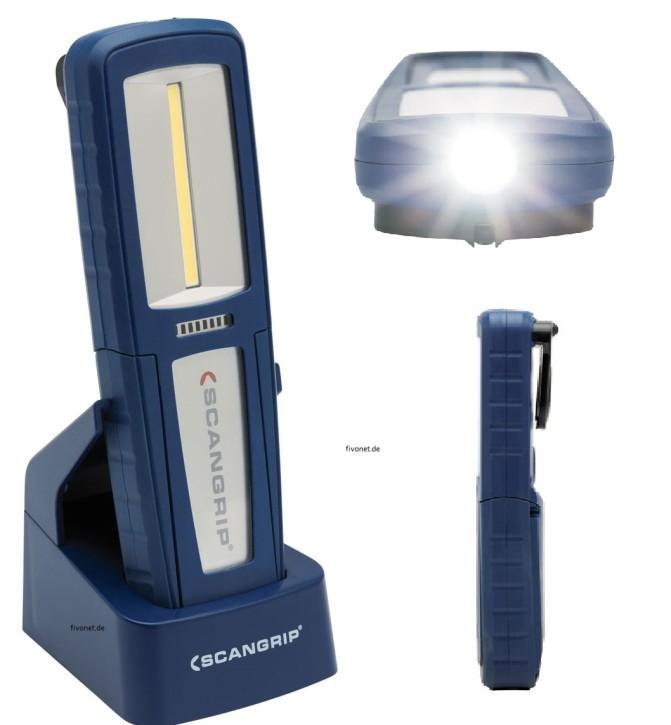 Scangrip UNIFORM COB LED Akkulampe Werkstattlampe Taschenlampe