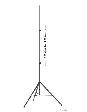 2x Scangrip 03.5268 SITE LIGHT 30 Baustrahler mit Stativ