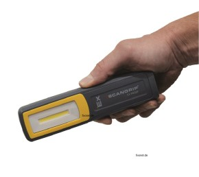 Scangrip MIDI EX Explosionsgeschützte Akku Handlampe
