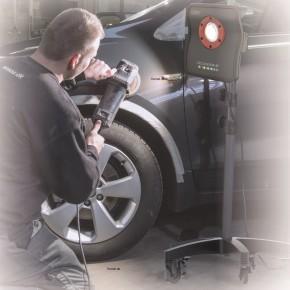 Scangrip 03.5682 Rollstativ Wheelstand für Arbeitsleuchten Fahrzeugaufbereitung