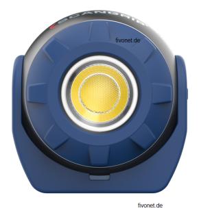 Scangrip 03.5900 Sound LED S Handleuchte mit Lautsprecher Scangrip