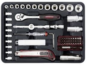 KRAFTWERK 1043 109-tlg. Allround Werkzeugkoffer