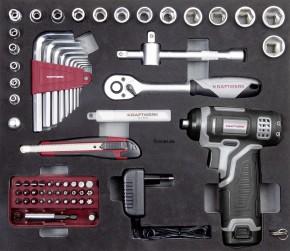 KRAFTWERK B152 Werkzeugkoffer mit Akku-Bitschrauber