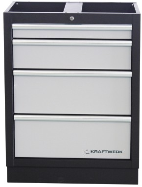 Werkstattschrank 4-Element Schrankwand Mobilio KRAFTWERK 3964B