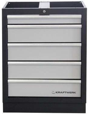 Werkstattschrank 4-Element Schrankwand Mobilio KRAFTWERK 3964BIX