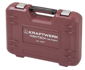 """KRAFTWERK 4017 Steckschlüsselkoffer 3/8"""" FINE POWER"""