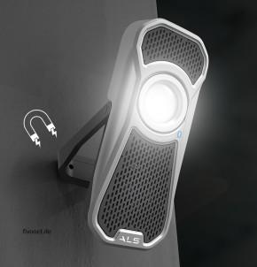 AUD601R Audio Light R Handleuchte mit Lautsprecher ALS/Scangrip