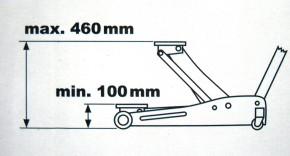 KRAFTWERK 3981 Wagenheber 2,5t