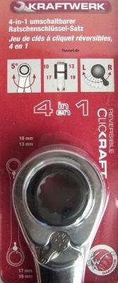 Doppel Ringratschenschlüssel 4 in 1