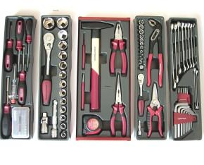 106-tlg. Werkzeugkiste 3036 Kraftwerk