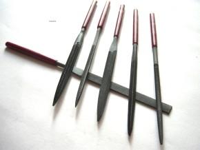 KRAFTWERK 6-tlg. Nadel Feilen Set Minifeilen