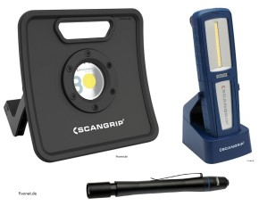 Scangrip Set NOVA 3K , Uniform, Flash Pen im Koffer