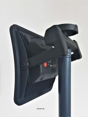 Scangrip 03.5439 NOVA R COB Akku Arbeitsleuchte Strahler mit Rollstativ